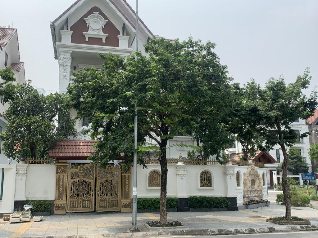 Mẫu cửa thép vân gỗ cao cấp cho biệt thự sang trọng