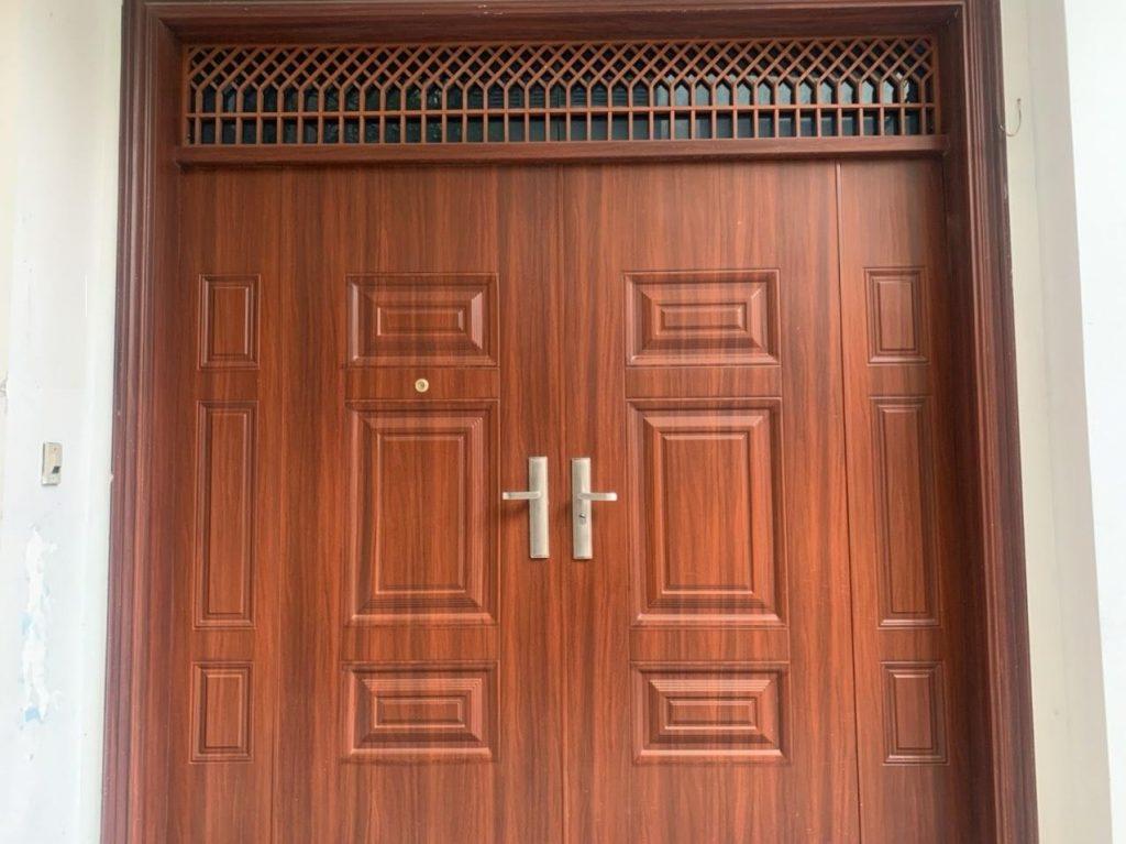 Tiêu chuẩn chất lượng cửa thép vân gỗ koffmann chính hãng