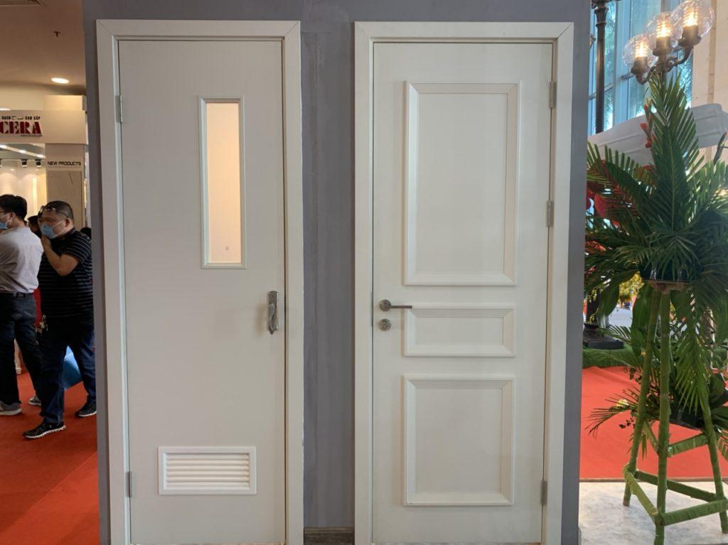 Một số gợi ý chọn vật liệu cửa nhà vệ sinh phù hợp