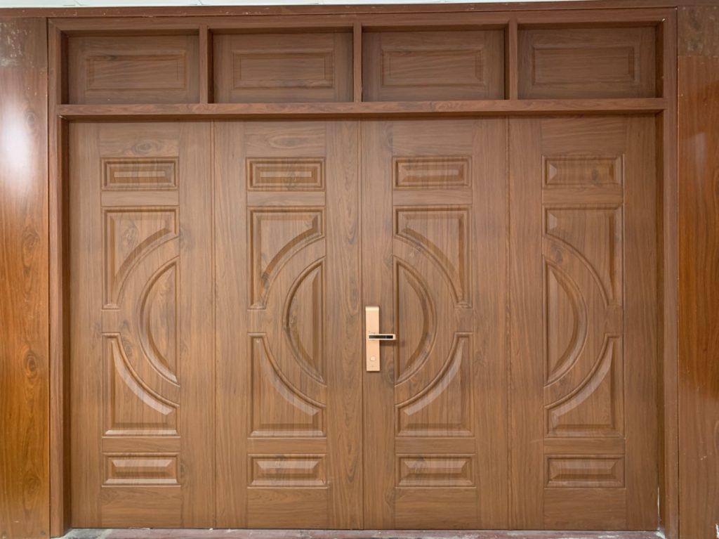 Kích thước cửa 4 cánh mặt tiền bao nhiêu? Tư vấn cửa 4 cánh mặt tiền