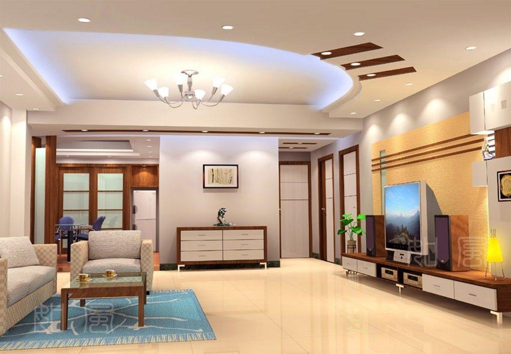 Thiết kế trần nhà đẹp tạo không gian sống lý tưởng