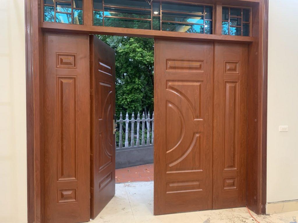 Giải pháp tăng cường an ninh, khả năng bảo vệ cửa cửa chính ra vào