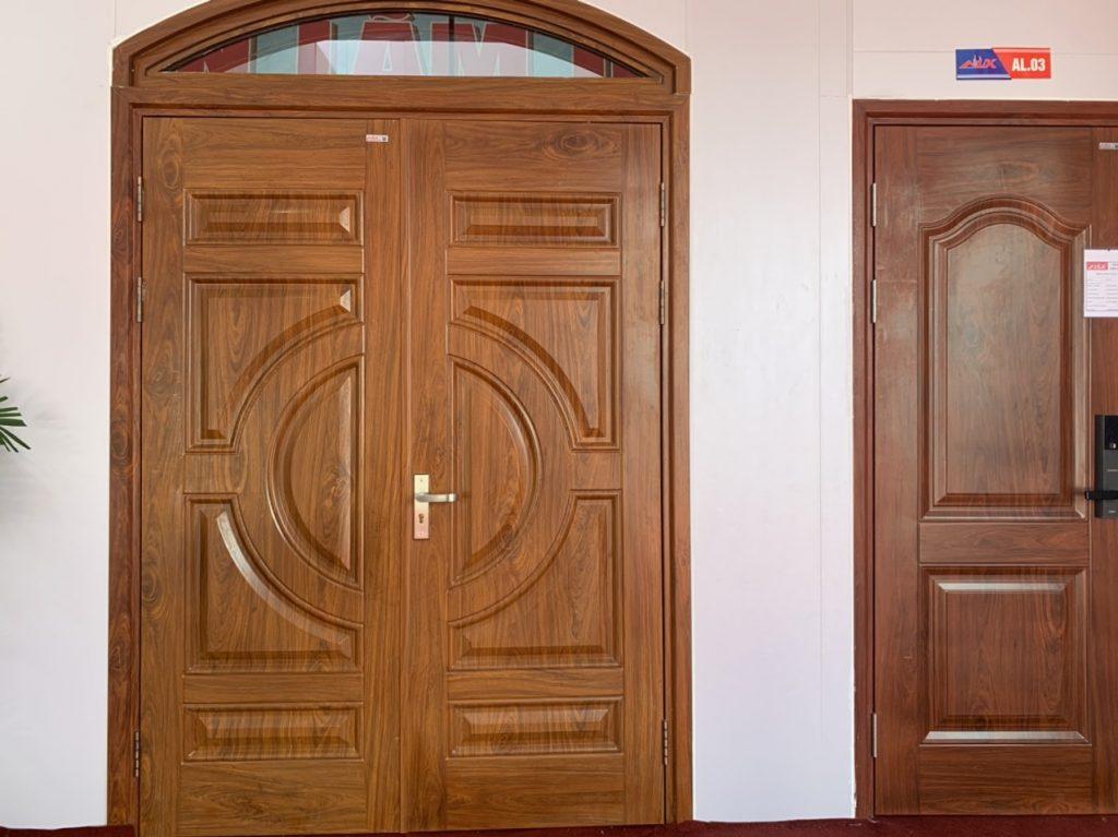 Ảnh hưởng kích thước cửa 2 cánh đến phong thủy nhà ở