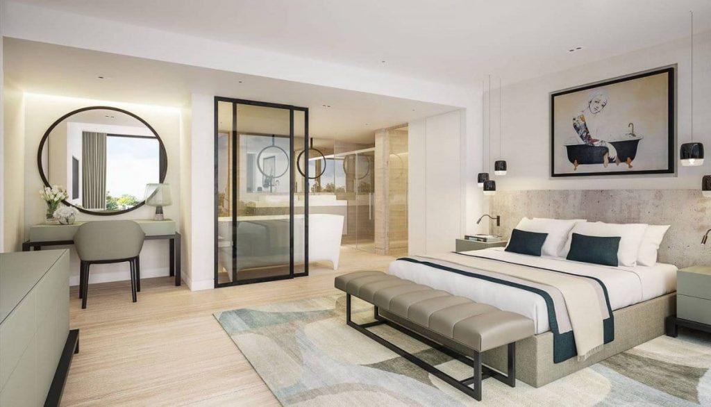 Phòng ngủ có nên có 2 cửa ra vào hay không?