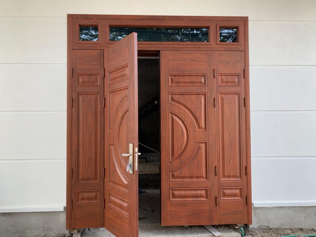 Bí quyết thiết kế cửa chính đẹp độc đáo hợp phong thủy