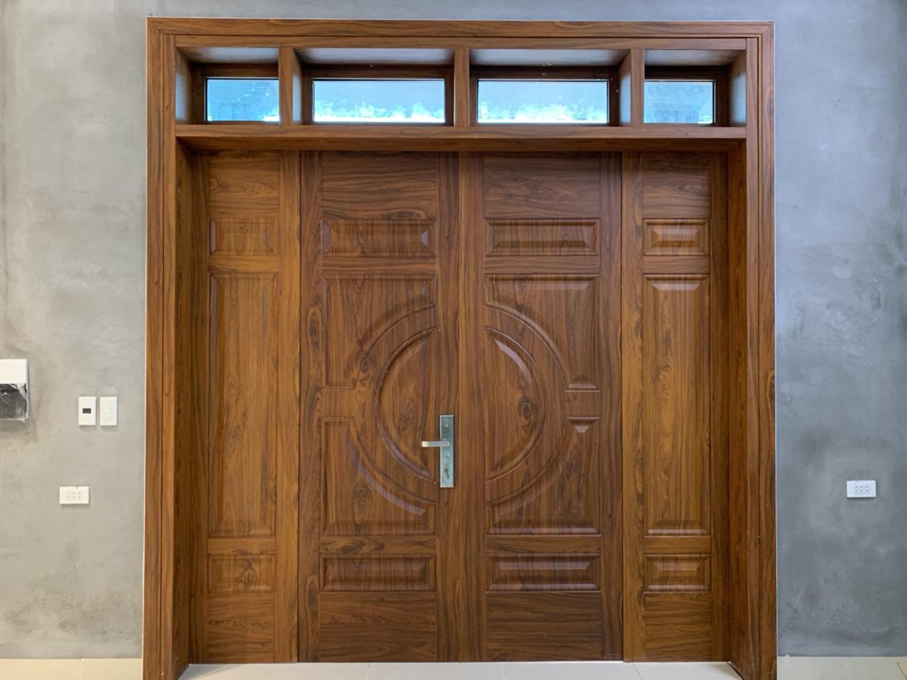 Báo giá cửa thép vân gỗ tại Bác Ninh