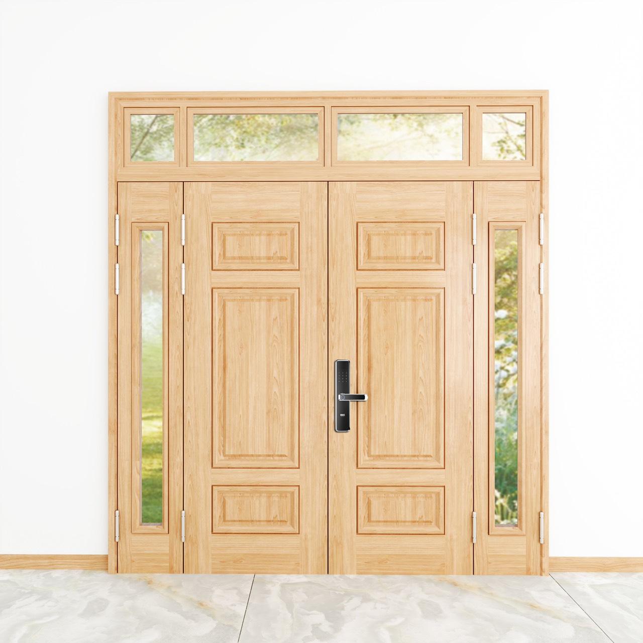 Lợi ích khi lắp đặt cửa thép vân gỗ