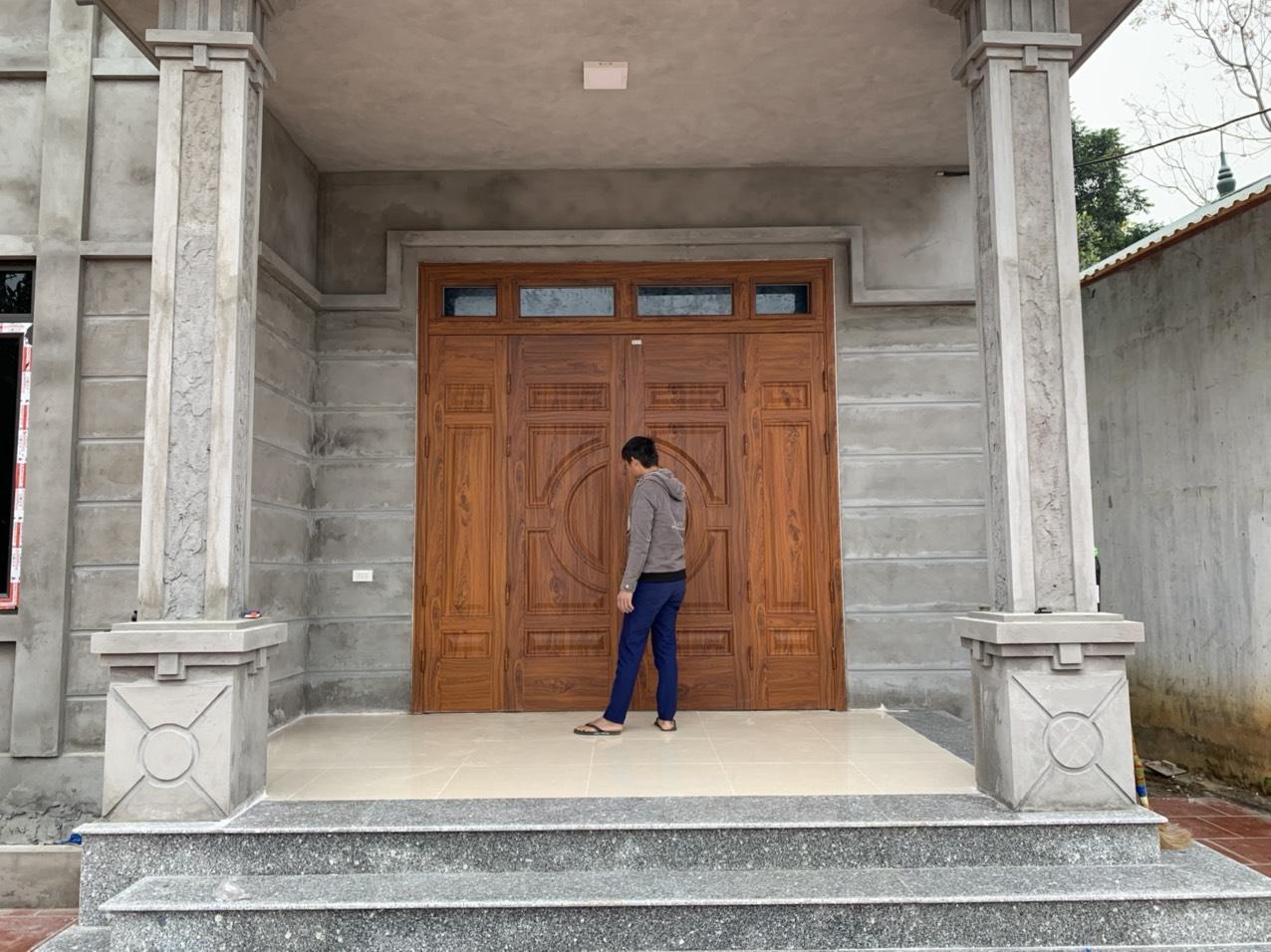 Lý do bạn nên chọn cửa thép vân gỗ Hải phòng?