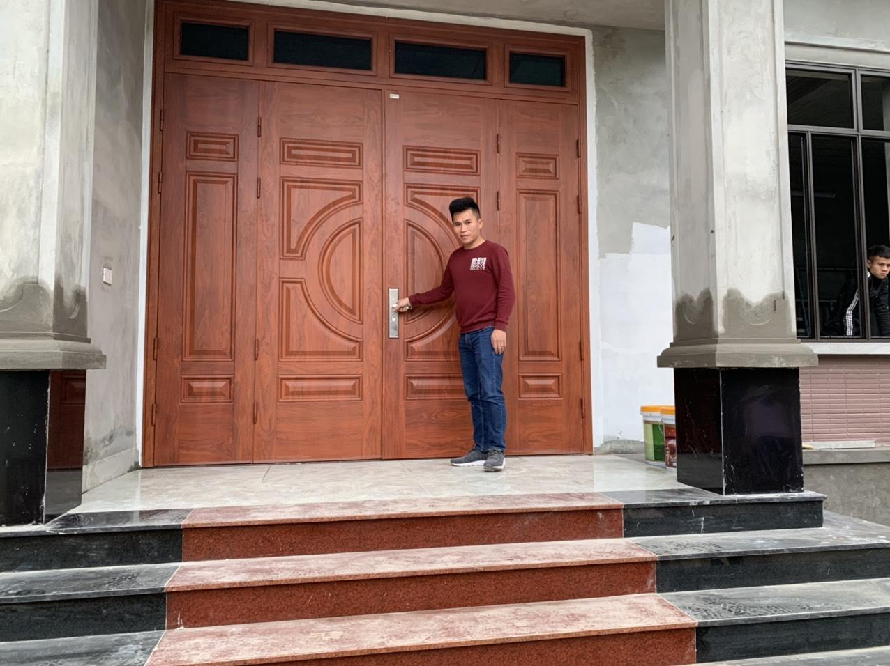Cửa thép vân gỗ có thay thế được cửa gỗ tự nhiên ở Bắc Giang?
