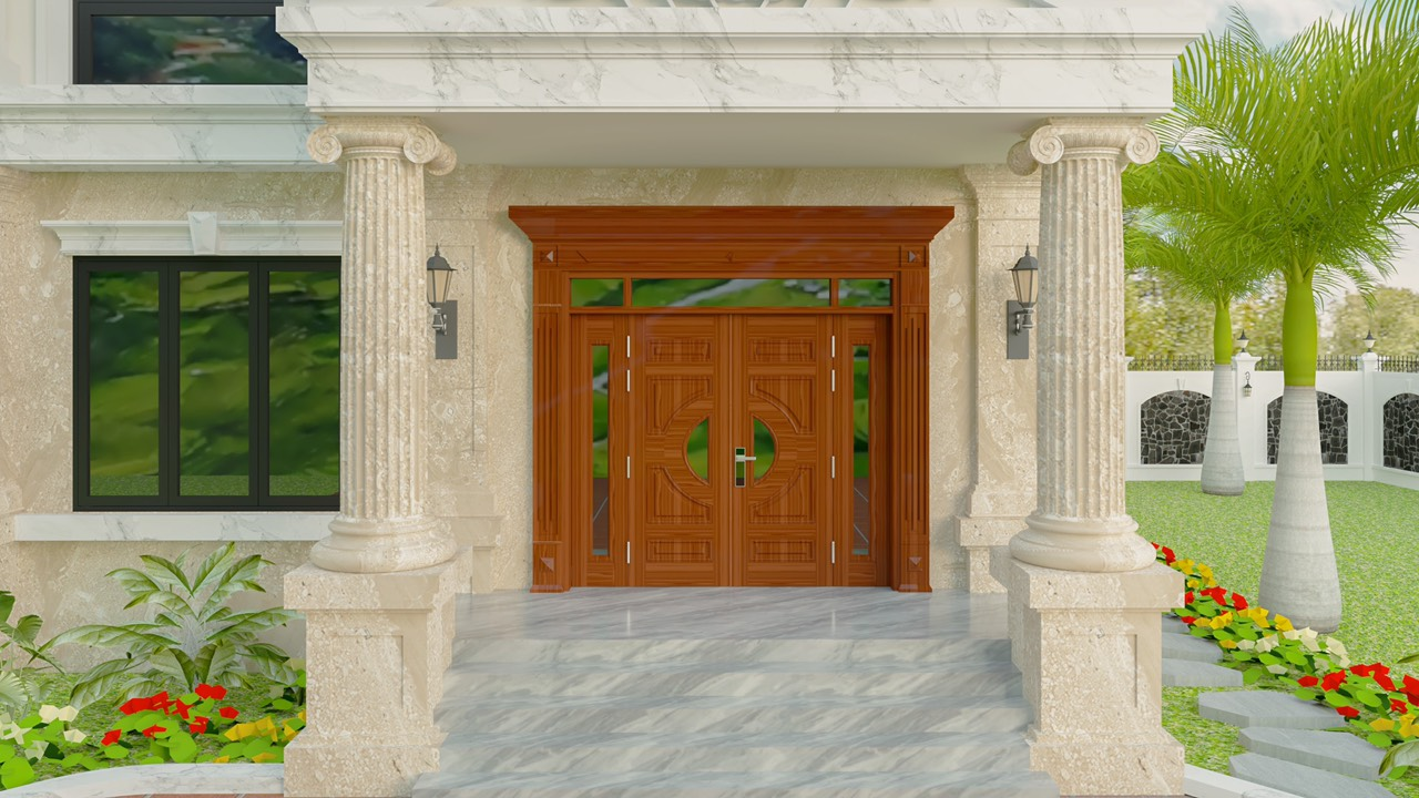 Ưu điểm cửa thép vân gỗ tại Phú Thọ