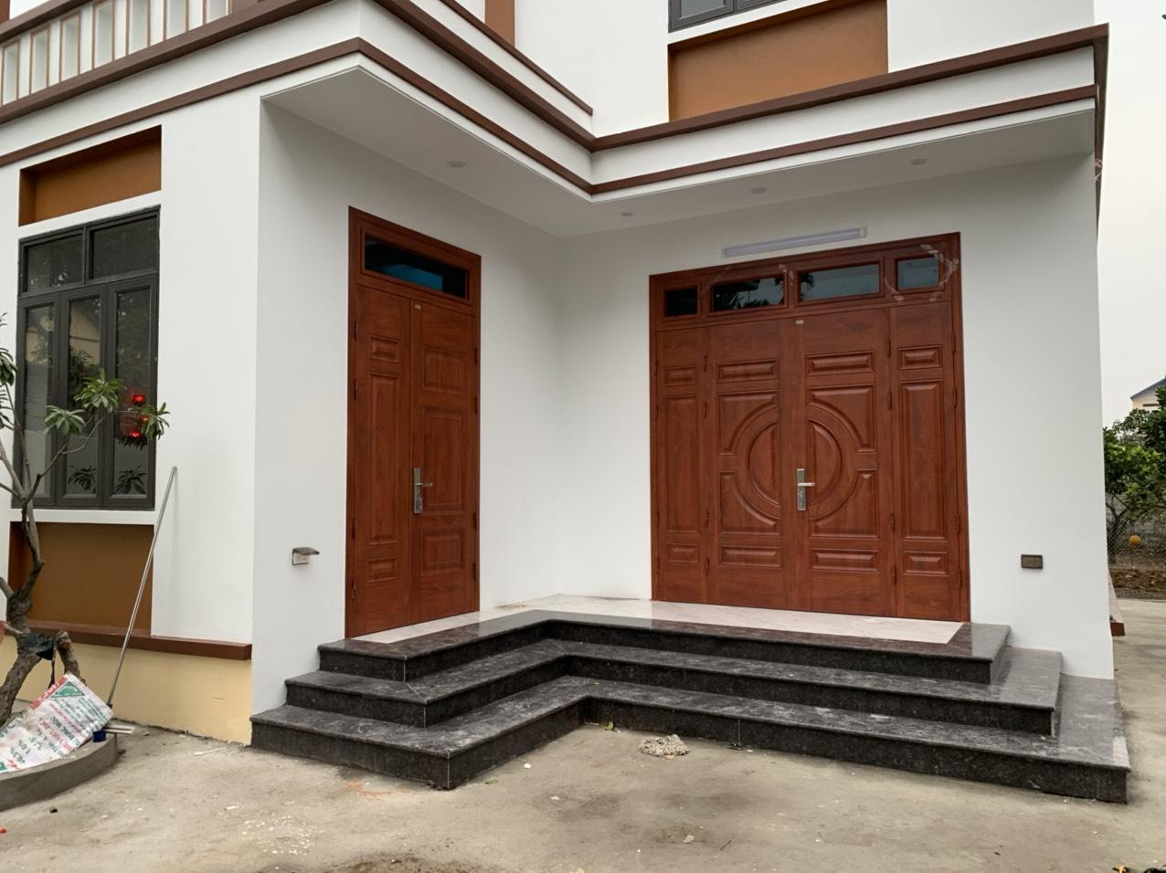 Ưu điểm của cửa thép vân gỗ tại Thái Bình