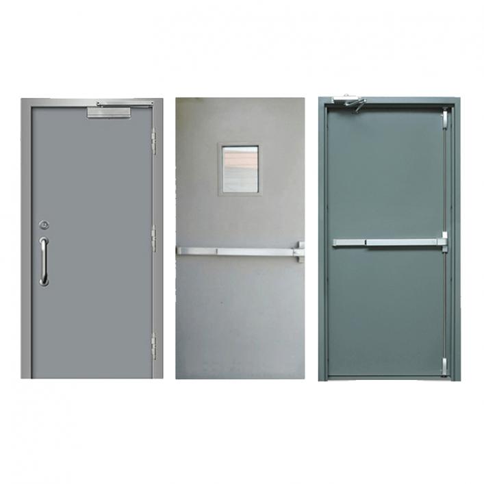 Chia sẻ thiết kế bản vẽ cad cửa thép chống cháy an toàn