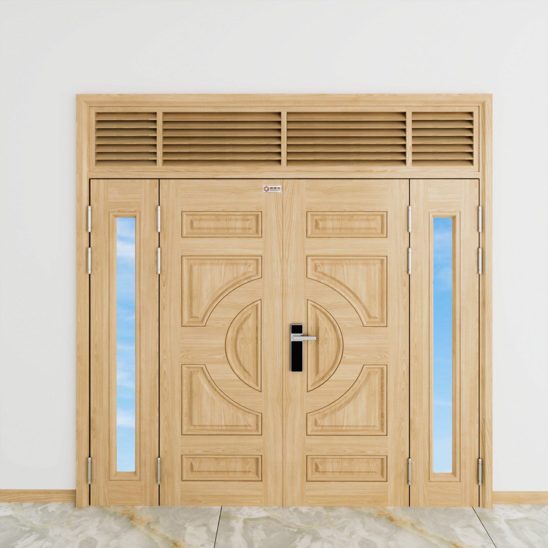 Những ưu điểm cửa thép chống cháy vân gỗ?