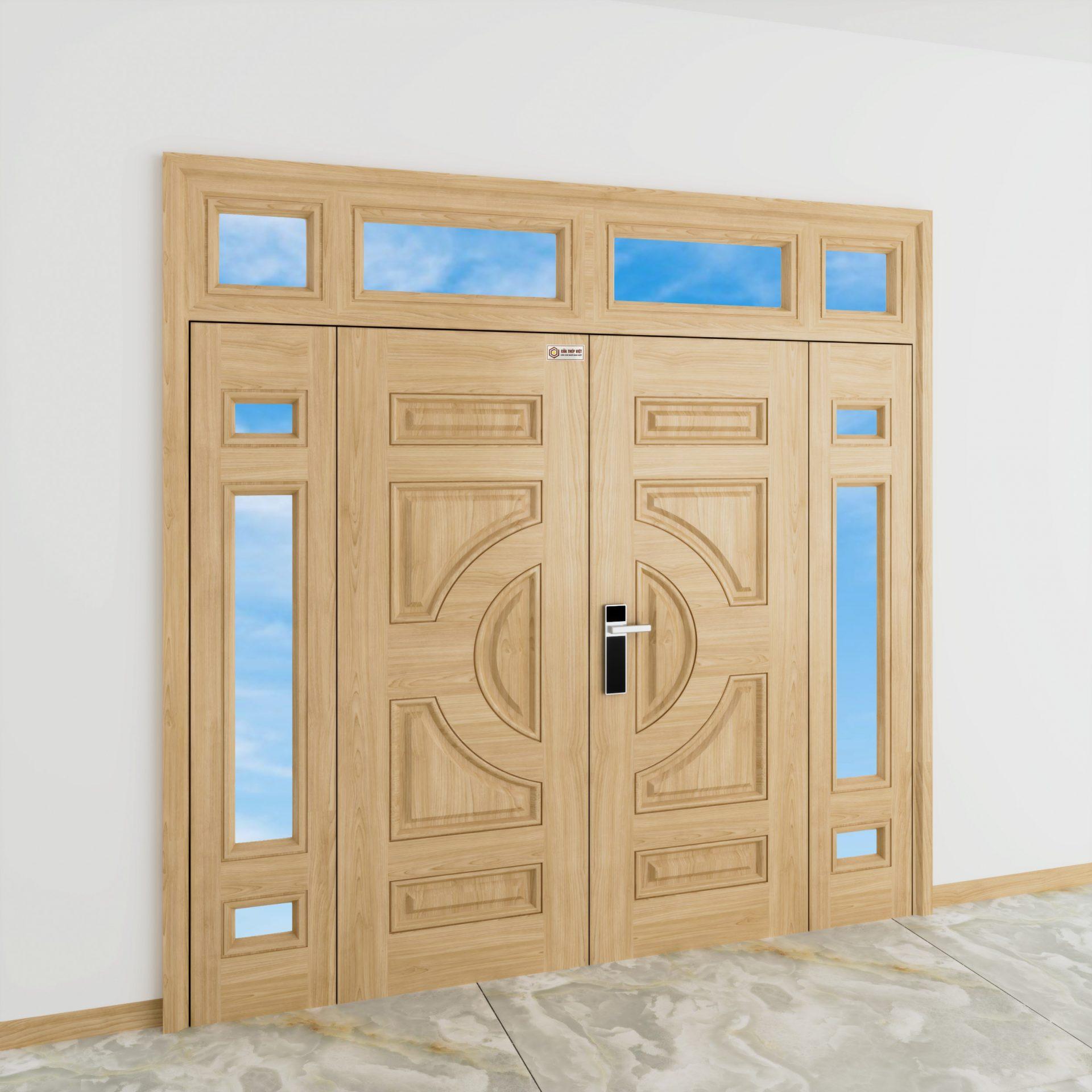 Sử dụng cửa thép vân gỗ có bị gỉ không?