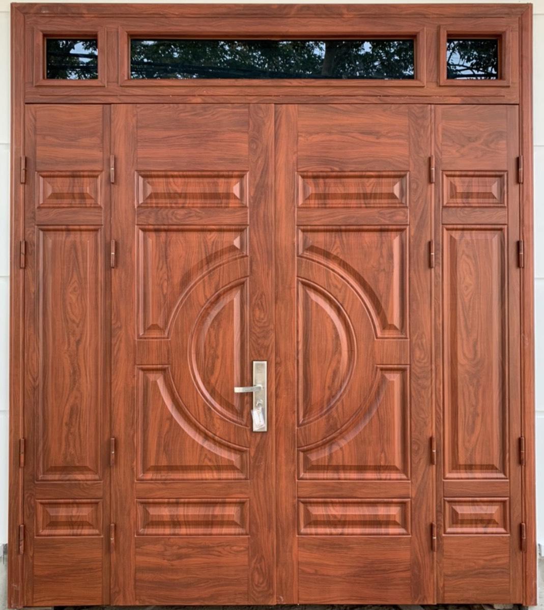 Cửa thép vân gỗ là gì?
