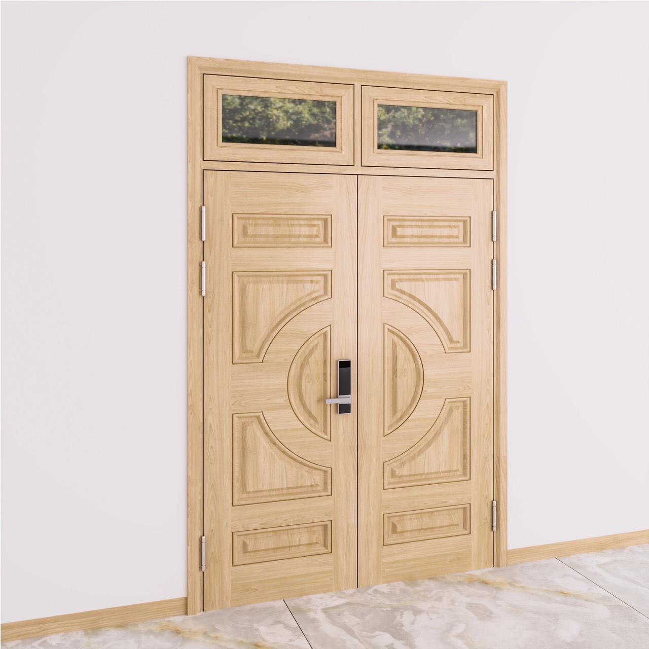 Cách lựa chọn mẫu cửa thép vân gỗ phòng ngủ phù hợp