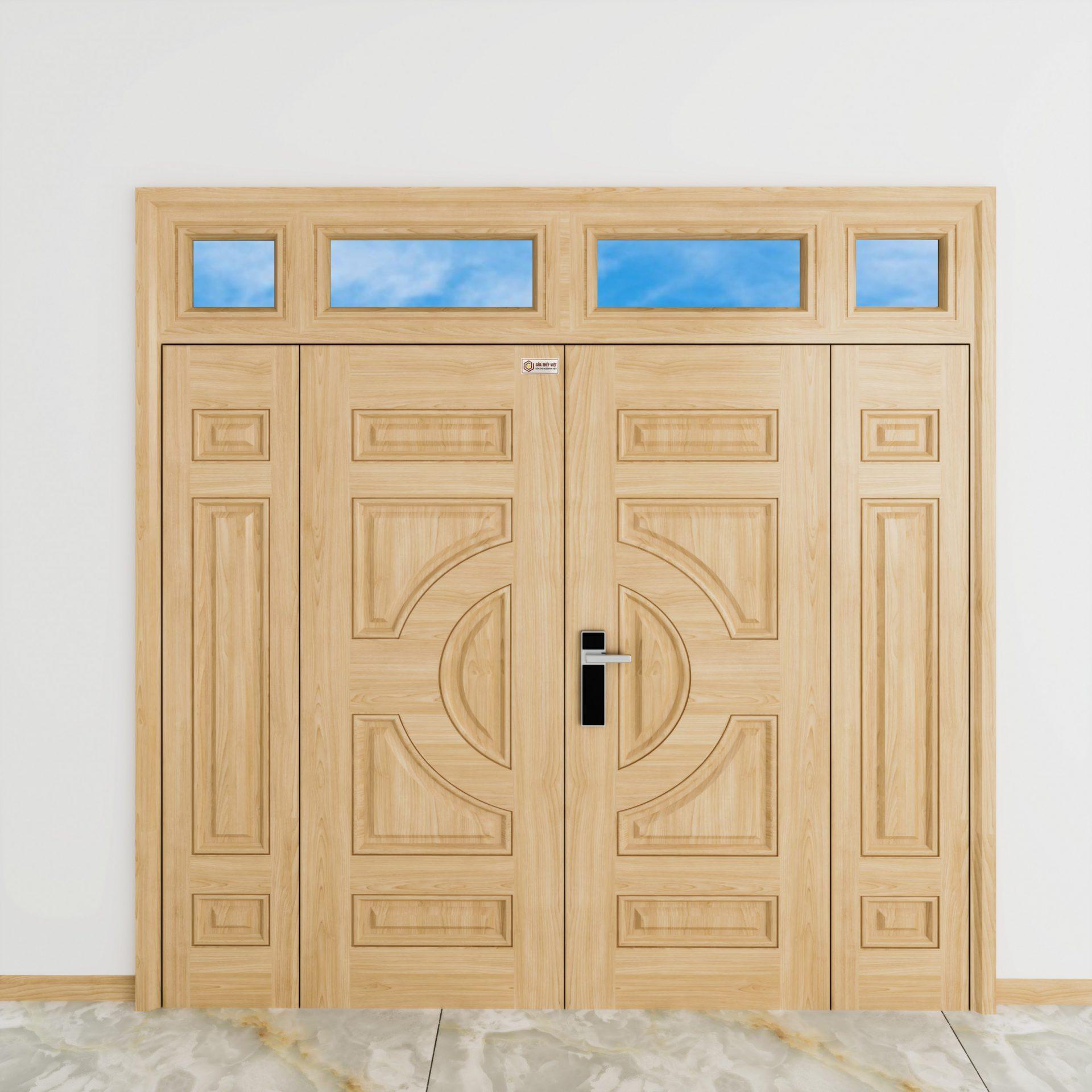 Đặc điểm cửa thép vân gỗ có bền không?