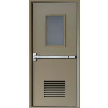 Lắp đặt cửa chống cháy có kính ở đâu uy tín?