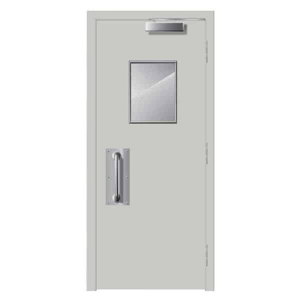 Những điều lưu ý khi lắp đặt cửa chống cháy có ô kính