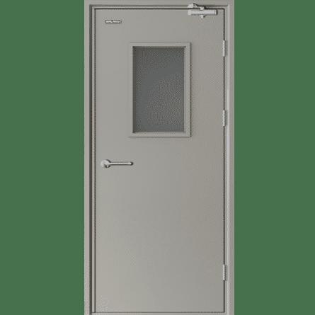 Đặc điểm nổi bật của cửa thép chống cháy có ô kính?