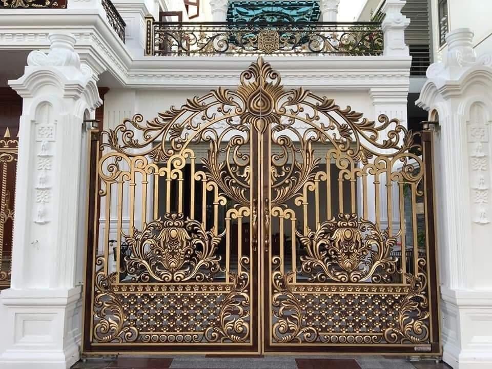 Những ưu điểm của cổng nhôm đúc?