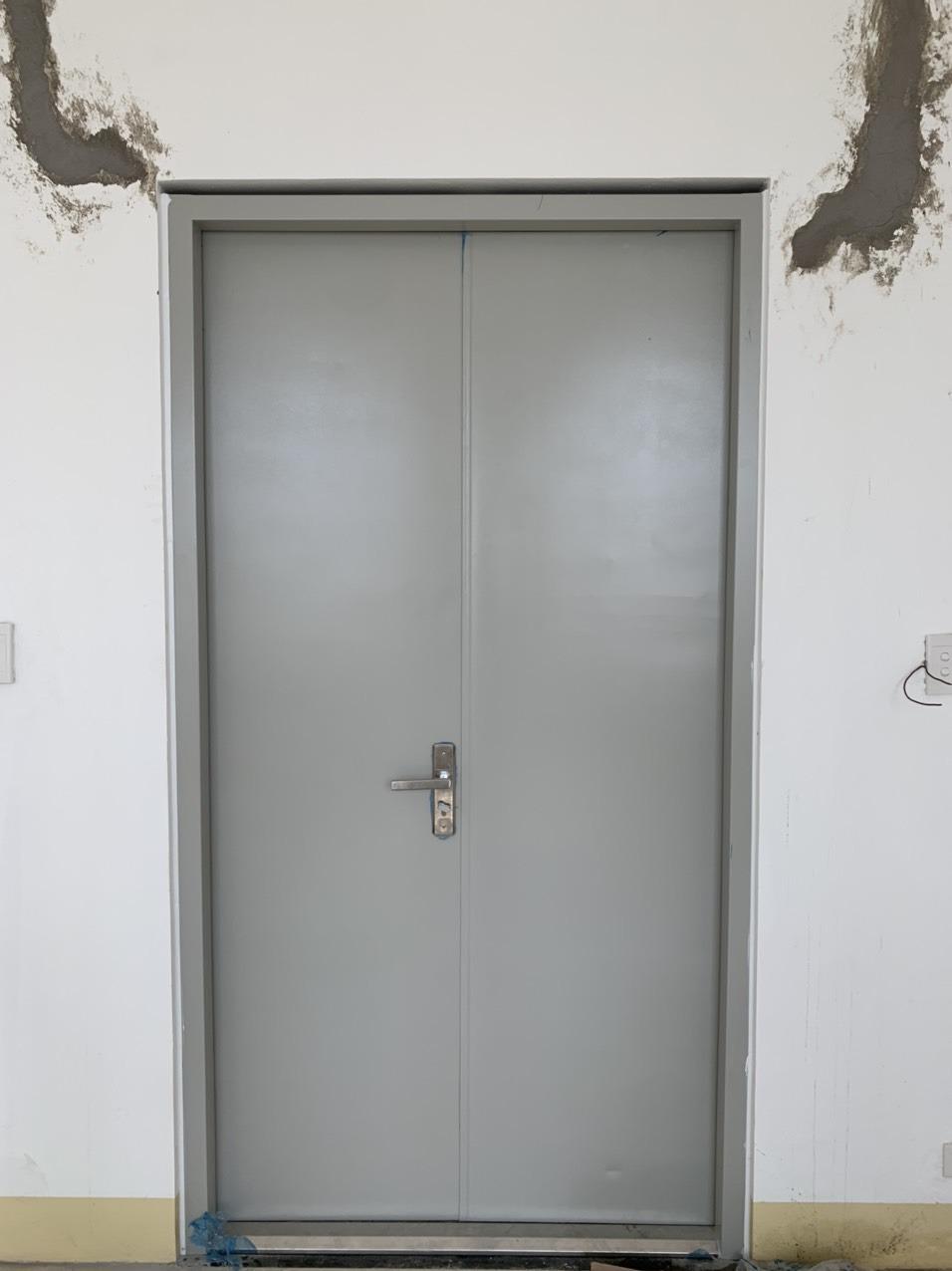 Các loại cửa sắt chống cháy hiện nay