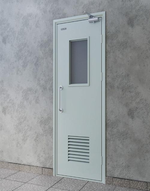 Cấu tạo và đặc điểm cửa chống cháy nổ chuyên dụng