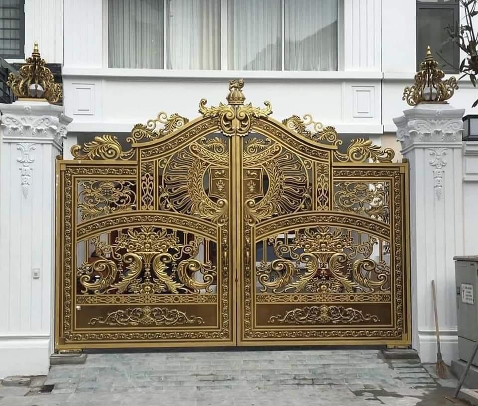 Đặc điểm nổi bật bộ cổng nhôm đúc nguyên khối