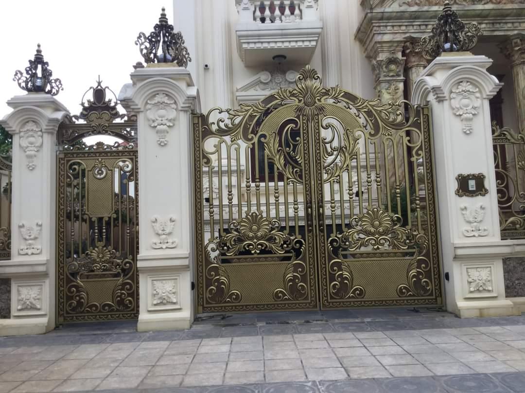 Thiết kế file cad cổng nhôm đúc đẹp nhất cho bạn tham khảo