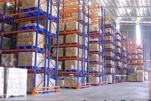 Kệ Selective chuyên trữ kho hàng công nghiệp đa dạng mẫu mã