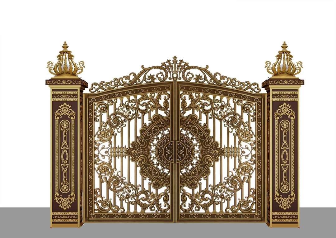 Kinh nghiệm chọn mẫu cổng nhôm đúc đẹp cho mặt tiền nhỏ hẹp