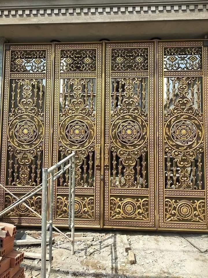 Lý do nên chọn cổng nhôm đúc cho biệt thự sang trọng