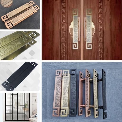 Tay nắm cửa đi cho cửa gỗ cửa sắt cửa kính cao cấp XL1227
